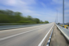 Motion blur racing track for race competition Royalty Free Stock Photo