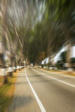 Motion blur racing track for race competition Royalty Free Stock Photos