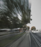 Motion blur Royalty Free Stock Photography