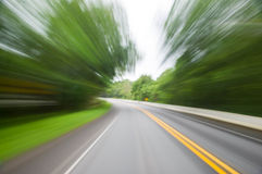 Motion blur Royalty Free Stock Photos