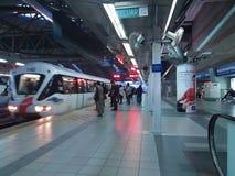 Motion Blur Train stock photos
