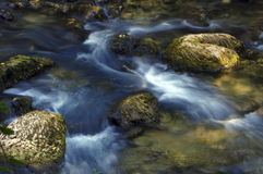 Motion blur water Royalty Free Stock Photos