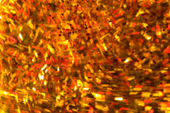 Motion blurred confetti Royalty Free Stock Image