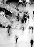Motion blurred of people Royalty Free Stock Images