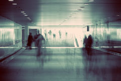 Motion blurred of people Stock Image