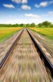 Motion blurred railway Royalty Free Stock Photo