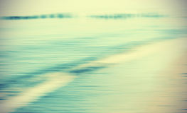 Motion blurred sea background. Stock Photo