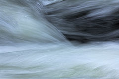 Motion blurred water Stock Photos