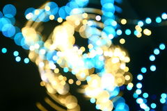 Motion bokeh Royalty Free Stock Photos