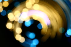 Motion bokeh Royalty Free Stock Images