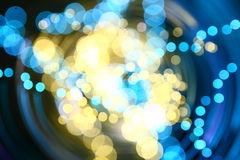 Motion bokeh Royalty Free Stock Photo