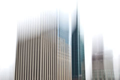 Motion Blur Buildings Royalty Free Stock Photo
