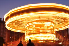 In motion Carousel Royalty Free Stock Photos
