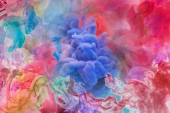 Motion Color drop in water,Ink swirling in ,Colorful ink abstraction.Fancy Dream Cloud of ink under water. Motion Color drop in water,Ink swirling in ,Colorful stock photos