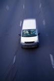 Motion delivery truck Royalty Free Stock Images