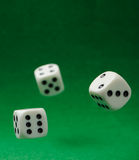 Motion dices Stock Images
