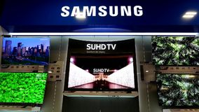 Motion of display Samsung tv on sale