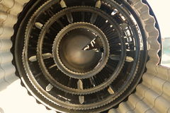 Motion element Inside aircraft motor Royalty Free Stock Image