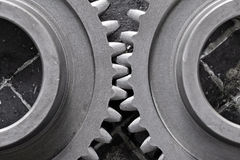 Motion gears - team force Royalty Free Stock Images
