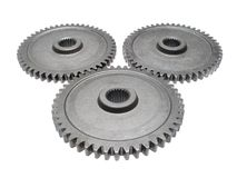Motion gears - team force Stock Photos