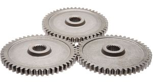 Motion gears - team force Stock Image