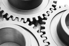 Motion gears - team force Royalty Free Stock Photo