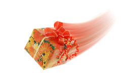 Motion gift Stock Photo