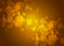 Motion glowing circles Royalty Free Stock Images