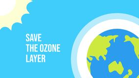 Motion graphic animation for International Day for the Preservation of the Ozone Layer