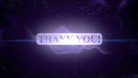 Thank you animation intro outro. Motion graphics - thank you animation intro outro stock video