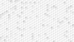Motion hexagon abstract background stock footage