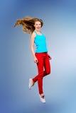 Motion jump Stock Photo