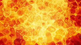 Motion of lava hot fire texture stock video footage