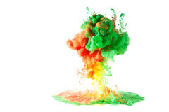 Motion multicolor fluid Royalty Free Stock Photos