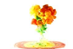 Motion multicolor liquid Stock Photo