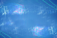 Motion at night in blue light - Abstract Light Stock Images