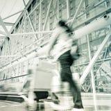 Motion passengers Stock Photos