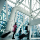 Motion passengers Royalty Free Stock Images