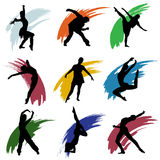 Motion people vector Royalty Free Stock Photography