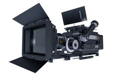 Motion Picture Camera Stock Image