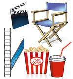 Motion Picture illustration Royalty Free Stock Image