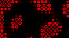 Motion red light circle. stock footage