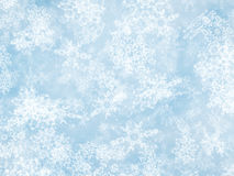 Motion snowfall backgrounds of a sunlight cold weather Royalty Free Stock Image