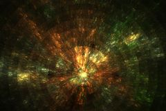 Motion in stellar dust. Stardust in motion created in Apophysis royalty free illustration