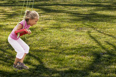 Motion on swing Royalty Free Stock Photography