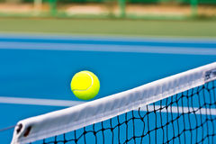 Motion tennis ball Stock Images