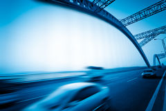 Motion traffic Royalty Free Stock Photography