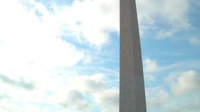 Motion video Washington Monument stock footage