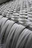 Motion of Water Spillway Royalty Free Stock Photos