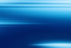 Motionblur bleu de fond Image libre de droits
